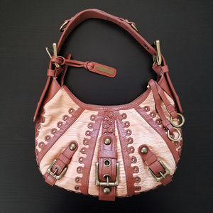 Isabella Fiore Leather Hobo